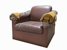 broken sofa Arkivbild