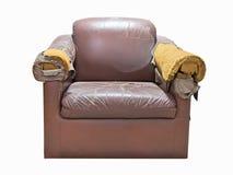 broken sofa Royaltyfri Fotografi