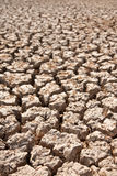 Broken soil in dry season Stock Photos