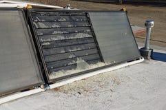 Broken Solar Collector Stock Images