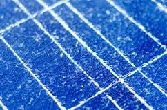 Broken solar panel Royalty Free Stock Photos