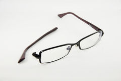 Broken Specs. A shot of a Broken pair of spectacles Royalty Free Stock Photos