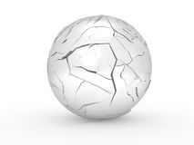 The broken sphere Royalty Free Stock Photography
