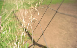 Broken Sports Netting Football Goal Royalty Free Stock Photo