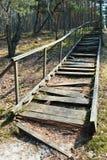 Broken stairs Stock Photo