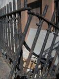 broken staket Royaltyfri Bild