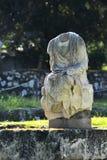 Broken statue Royalty Free Stock Image