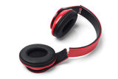 Broken Stereo Headphones royalty free stock photo