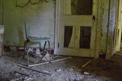 broken stol Royaltyfria Bilder