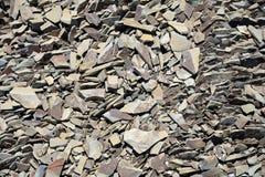 Broken stone fragmentation Royalty Free Stock Photography