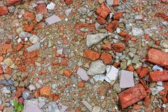 Broken stone texture and background royalty free stock photos
