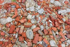 Broken stone texture and background royalty free stock photography
