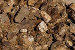 Broken stone texture Royalty Free Stock Photos