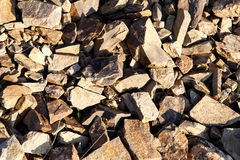 Broken stone texture Royalty Free Stock Images