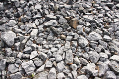 Broken stones pattern Royalty Free Stock Photography