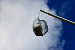 A broken street light Stock Photo