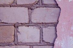 Broken stucco Stock Photos