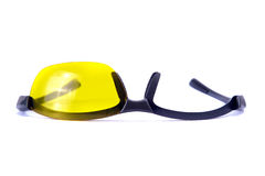 Broken sunglasses. Royalty Free Stock Photography