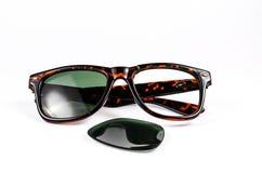 Broken sunglasses Royalty Free Stock Image