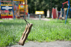 Broken swing Royalty Free Stock Photos