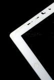 Broken Tablet. A Broken Tablet on black background Stock Photos