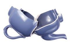 Broken Teapot Royalty Free Stock Photography