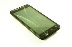 broken telefon Royaltyfri Foto