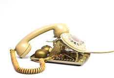 Broken telephone Royalty Free Stock Photo