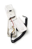 Broken Telephone Handset Royalty Free Stock Photo