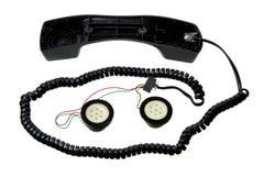 Broken Telephone Handset Royalty Free Stock Image