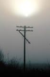 Broken Telephone Pole Royalty Free Stock Photo