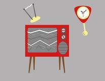 Broken Television Set Royalty Free Stock Photo