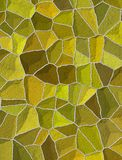 Broken tile wall. Broken tile Royalty Free Stock Photography