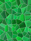 Broken tiles mosaic floor or wall. Background texture. Large illustration Stock Photography