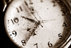 Broken time concept Royalty Free Stock Photos