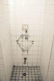 Broken toilet Royalty Free Stock Photos