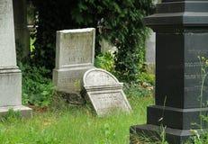 Broken tombstone Royalty Free Stock Photos