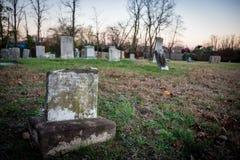 Broken Tombstone Stock Photo