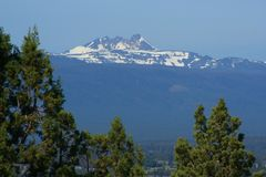 Broken Top, Central Oregon Cascades Stock Photo