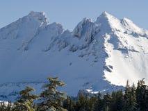 Broken Top Mountain Stock Image