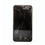 Broken Touchscreen of smartphone Stock Photo