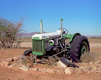Broken tractor Royalty Free Stock Image