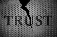Broken Trust pattern Royalty Free Stock Images