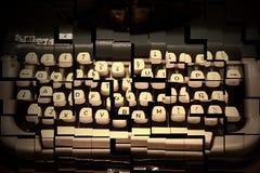 Broken typewriter Royalty Free Stock Photography