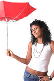 Broken umbrella Royalty Free Stock Photography