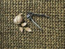 Broken up garlic Royalty Free Stock Photography