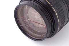 Broken UV filter Stock Photos