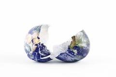 broken värld Arkivbilder