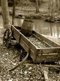broken vagn Arkivbilder