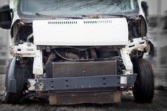 Broken van Royalty Free Stock Photography